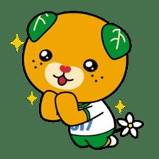 """Ehime Kokutai and Ehime Taikai """"Mikyan"""" sticker #7031259"""