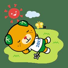 """Ehime Kokutai and Ehime Taikai """"Mikyan"""" sticker #7031261"""