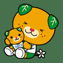 """Ehime Kokutai and Ehime Taikai """"Mikyan"""" sticker #7031262"""