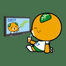 """Ehime Kokutai and Ehime Taikai """"Mikyan"""" sticker #7031264"""
