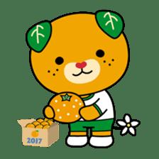 """Ehime Kokutai and Ehime Taikai """"Mikyan"""" sticker #7031276"""