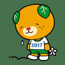 """Ehime Kokutai and Ehime Taikai """"Mikyan"""" sticker #7031279"""