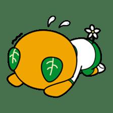 """Ehime Kokutai and Ehime Taikai """"Mikyan"""" sticker #7031285"""