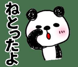 MIKAWABEN sticker PANDAPAN 2. sticker #7035356