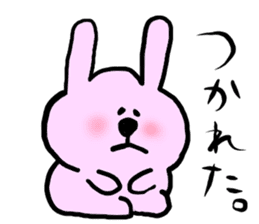 Rabbit and Wombat 2 sticker #7036216