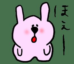 Rabbit and Wombat 2 sticker #7036218