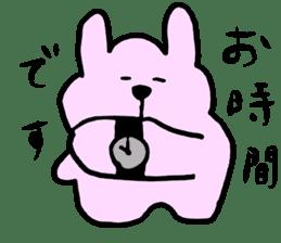 Rabbit and Wombat 2 sticker #7036220