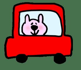Rabbit and Wombat 2 sticker #7036221