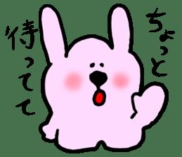Rabbit and Wombat 2 sticker #7036225