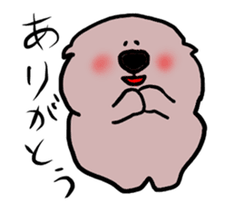 Rabbit and Wombat 2 sticker #7036226