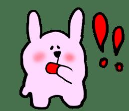 Rabbit and Wombat 2 sticker #7036231