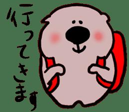 Rabbit and Wombat 2 sticker #7036234