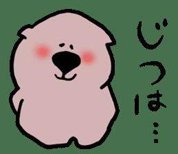 Rabbit and Wombat 2 sticker #7036239