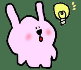 Rabbit and Wombat 2 sticker #7036240