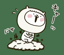 fool alpaca sticker #7039021
