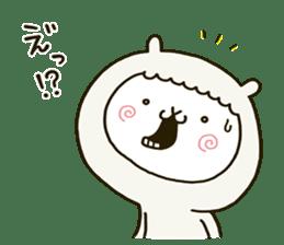 fool alpaca sticker #7039023