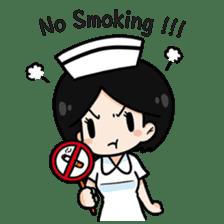 DK Nurse from Thailand(English) sticker #7039693