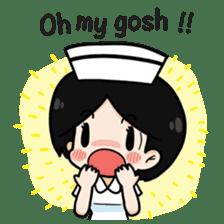 DK Nurse from Thailand(English) sticker #7039698