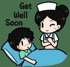 DK Nurse from Thailand(English) sticker #7039699