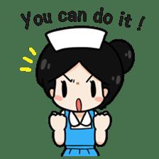 DK Nurse from Thailand(English) sticker #7039702