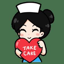 DK Nurse from Thailand(English) sticker #7039708