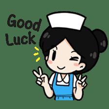 DK Nurse from Thailand(English) sticker #7039710