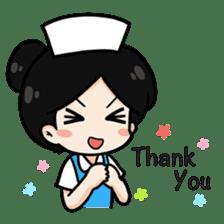 DK Nurse from Thailand(English) sticker #7039711