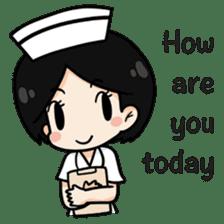 DK Nurse from Thailand(English) sticker #7039713