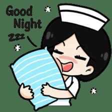 DK Nurse from Thailand(English) sticker #7039715