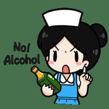 DK Nurse from Thailand(English) sticker #7039719