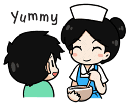 DK Nurse from Thailand(English) sticker #7039724