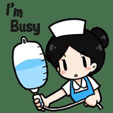 DK Nurse from Thailand(English) sticker #7039727
