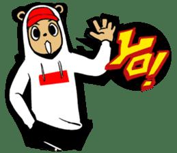 G.Reezy the Dope Bear (featuring Bunni) sticker #7040168