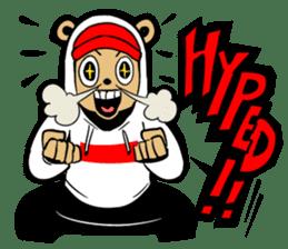 G.Reezy the Dope Bear (featuring Bunni) sticker #7040182