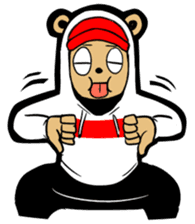 G.Reezy the Dope Bear (featuring Bunni) sticker #7040183