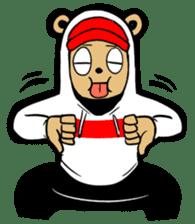 G.Reezy the Dope Bear (featuring Bunni) sticker #7040183