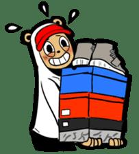 G.Reezy the Dope Bear (featuring Bunni) sticker #7040186