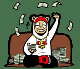 G.Reezy the Dope Bear (featuring Bunni) sticker #7040187