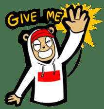 G.Reezy the Dope Bear (featuring Bunni) sticker #7040192