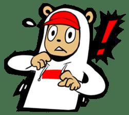 G.Reezy the Dope Bear (featuring Bunni) sticker #7040196