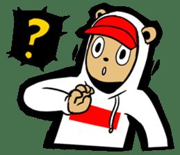 G.Reezy the Dope Bear (featuring Bunni) sticker #7040197