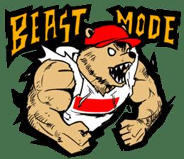 G.Reezy the Dope Bear (featuring Bunni) sticker #7040199