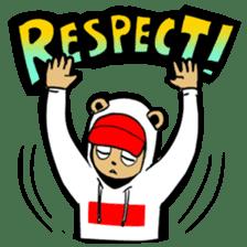G.Reezy the Dope Bear (featuring Bunni) sticker #7040200