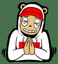 G.Reezy the Dope Bear (featuring Bunni) sticker #7040202