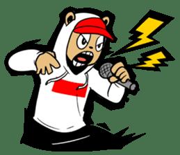 G.Reezy the Dope Bear (featuring Bunni) sticker #7040206