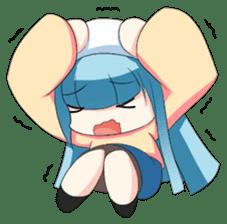 Chibi Neko Rinnae [ENG] sticker #7040475