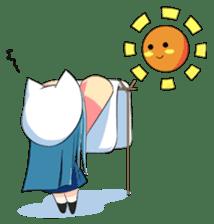 Chibi Neko Rinnae [ENG] sticker #7040482