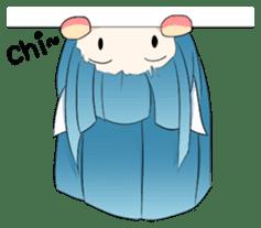 Chibi Neko Rinnae [ENG] sticker #7040485