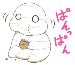 How to keep a mummy sticker #7040570