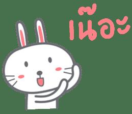Bunny is Happy ver.2 sticker #7041969